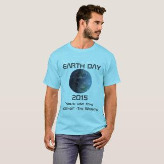 Custom Made EARTH DAY 2015 T-Shirt
