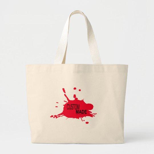 Custom Made Large Tote Bag