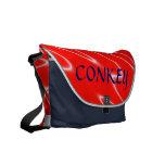 custom-made monogrammed bag commuter bags