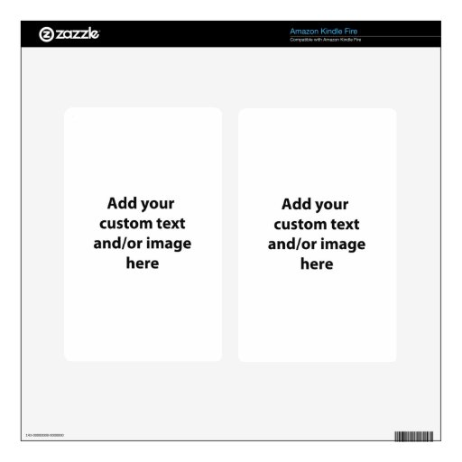 Custom Made Skin For Kindle Fire