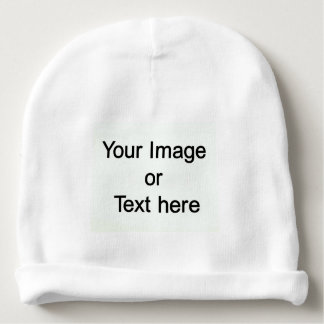 Custom Made with Your Own Image or Text Baby Beanie