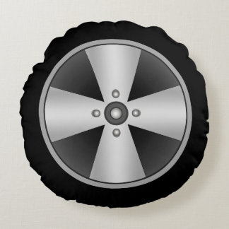 Custom Mag Wheel Round Pillow