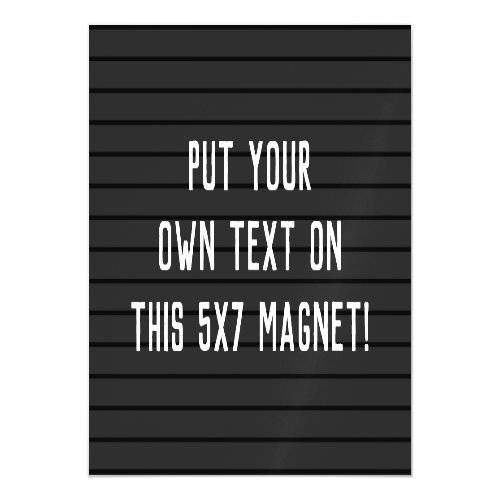 CUSTOM MAGNET _ add your text or message