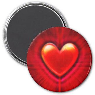 Custom Magnet blood red goth heart