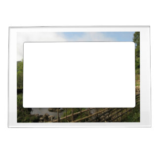 custom magnetic picture frame outdoors from Zazzle