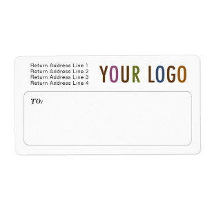business shipping labels zazzle