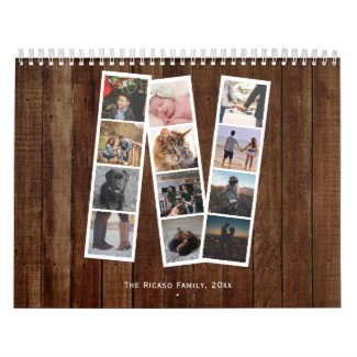 Custom Make Your Own Photo Calendar