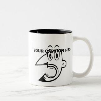 Custom Man 12 Two-Tone Coffee Mug