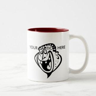Custom Man 1 Two-Tone Coffee Mug