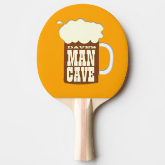 Custom Man Cave Ping-Pong Paddle