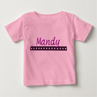 Custom Mandy Baby T-Shirt