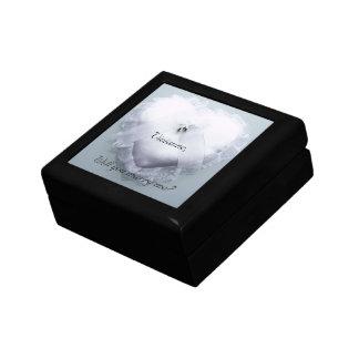 Custom Marry Me Jewelry Box