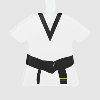 Custom Martial Arts 2nd Degree Black Belt Uniform