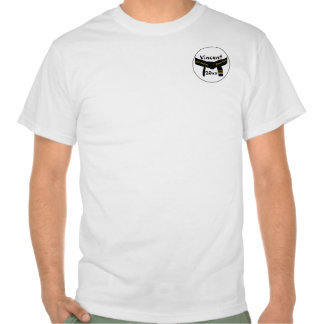 Custom Martial Arts 3rd Degree Black Belt T-Shirt