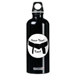 Custom Martial Arts Black Belt SIGG Traveler 0.6L Water Bottle