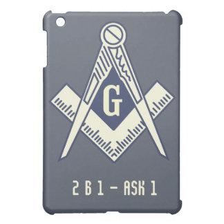 Custom Masonic Blue Lodge iPad Case
