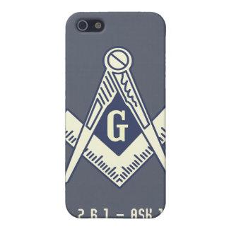 Custom Masonic Blue Lodge iPhone Case iPhone 5 Cases