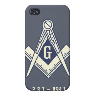 Custom Masonic Blue Lodge iPhone Case Covers For iPhone 4