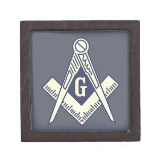 Custom Masonic Blue Lodge Jewelry Box Premium Gift Box