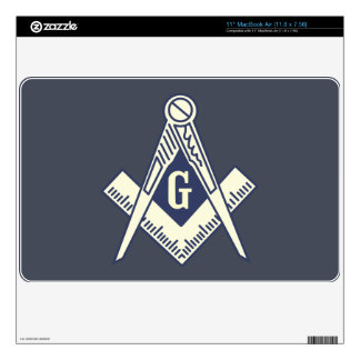 Custom Masonic Blue Lodge Laptop Sticker Decal For The MacBook
