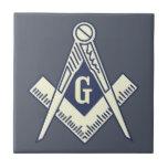 Custom Masonic Blue Lodge Wall Tile