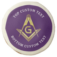 Custom Masonic Cookies | Freemason Party Supplies