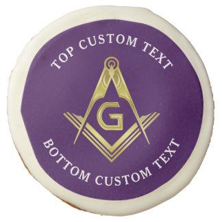 Custom Masonic Cookies   Freemason Party Supplies