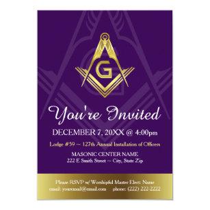 Masonic lodge gifts on zazzle custom masonic invitation templates grand lodge maxwellsz