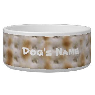 Custom Matzoh Dog Food Bowl