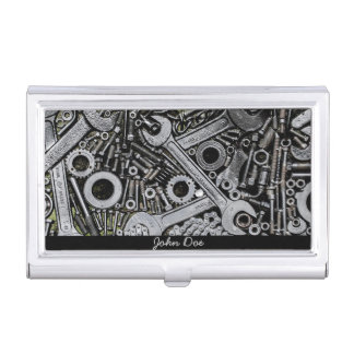 Custom Mechanical Tools Business Card Holder
