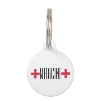 Custom Medicine In case of Emergency Medication Pet Tag