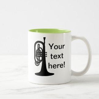 Custom Mellophone Coffee Mug