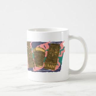 Custom Melvin Tipsy Tiki Totem Low Brow Luau - Coffee Mug