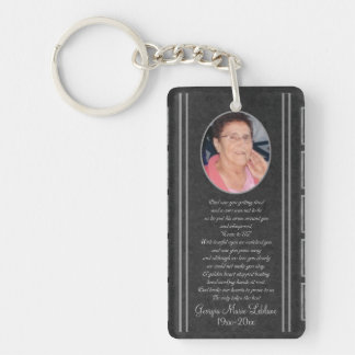 Custom Memorial Keepsakes Key Chain