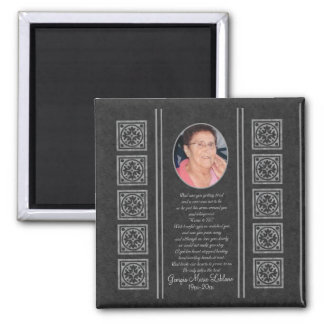 Custom Memorial Keepsakes Magnet