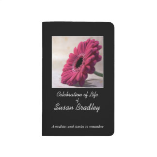 Custom Memory Book to give 4 Celebration of Life 2 Journals