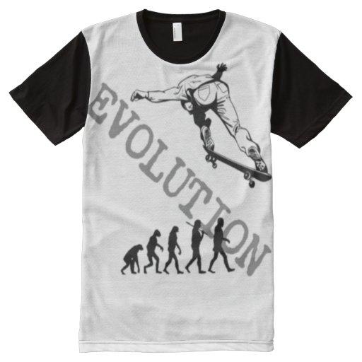 Custom men 39 s american apparel evolution all over print for American apparel custom t shirt printing