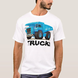 Custom Mens Construction Dump Truck T-Shirt