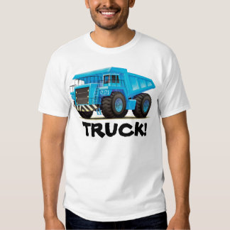 Custom Mens Construction Dump Truck T-shirts