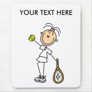 Custom Men's Tennis Gift Mouse Pad