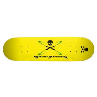 Custom Merauder Skateboard Deck Yellow