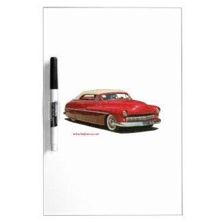 Custom_Mercury_Texturized Dry Erase White Board