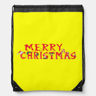 Custom Merry Christmas Mugs Buttons Hats Watches Drawstring Bag