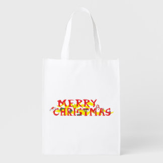 Custom Merry Christmas Mugs Buttons Hats Watches Reusable Grocery Bags