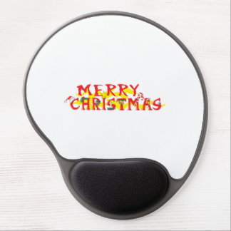 Custom Merry Christmas Poker Chips Gift Wrappers Gel Mousepad