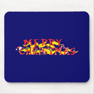 Custom Merry Christmas Poker Chips Gift Wrappers Mouse Pads