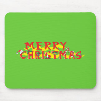 Custom Merry Christmas Poker Chips Gift Wrappers Mousepad