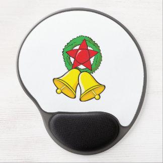 Custom Merry Christmas Star Lantern Gift Wrappers Gel Mouse Mat