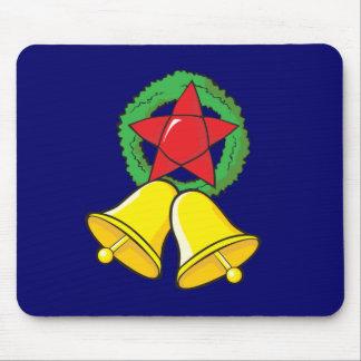 Custom Merry Christmas Star Lantern Gift Wrappers Mousepad