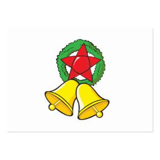 Custom Merry Christmas Star Lantern Invitation Business Cards